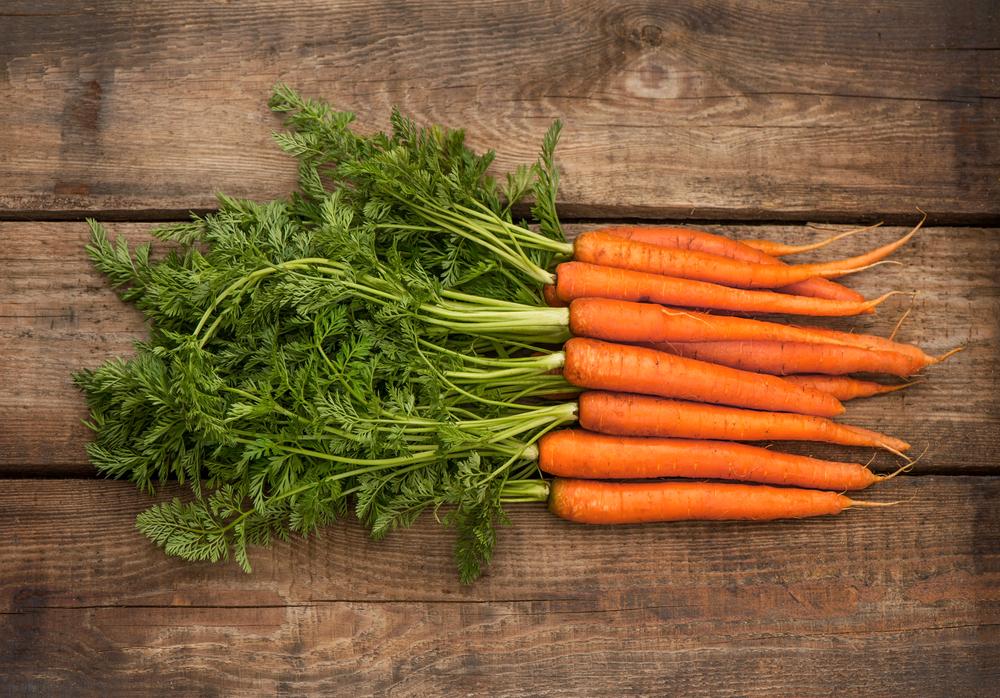 Vitaminer i gulerødder